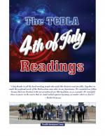 Pictures from the Annual TCDLA Reading of the Declaration of Independence